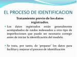 el proceso de identificacion1
