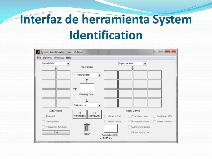Interfaz de herramienta