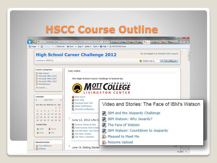 HSCC Course