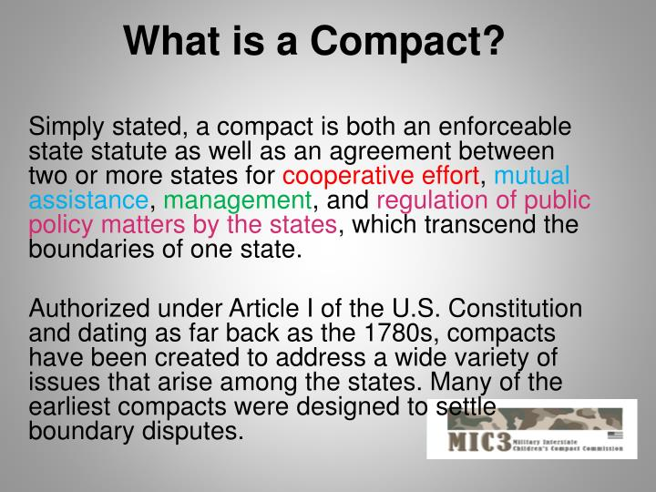 What is a Compact