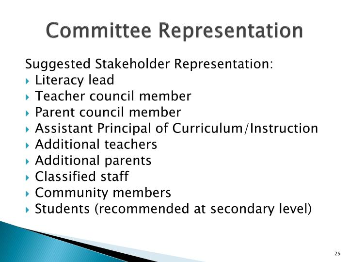 Committee Representation