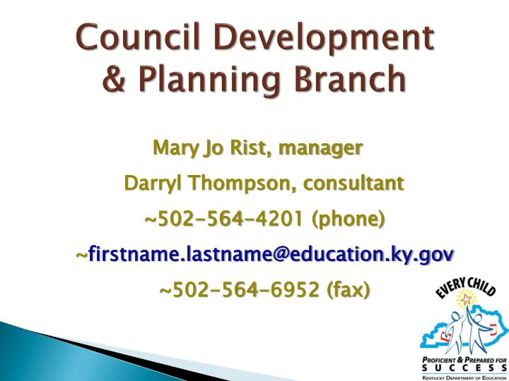 Council Development