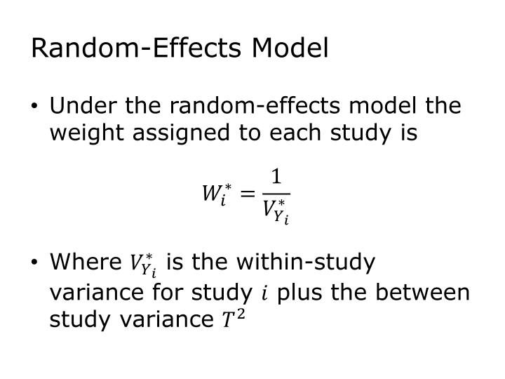 Random-Effects Model