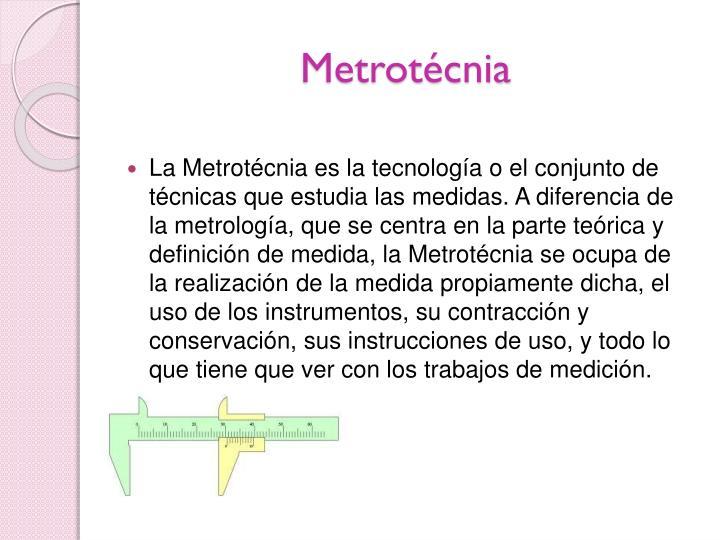 Metrotécnia