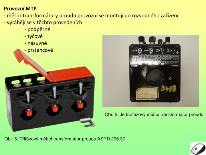 Provozní MTP