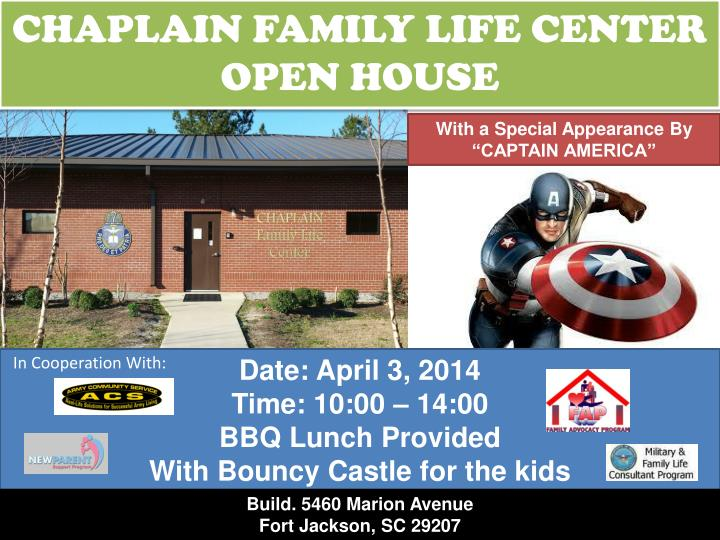 CHAPLAIN FAMILY LIFE CENTER