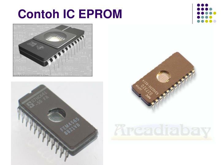 Contoh IC EPROM
