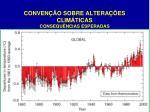 conven o sobre altera es clim ticas consequ ncias esperadas1