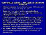 conven o sobre altera es clim ticas respostas