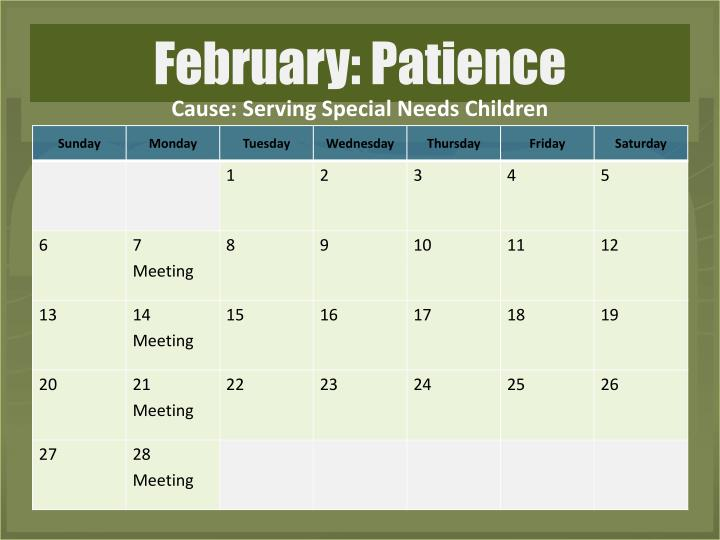 Cause: Serving Special Needs Children