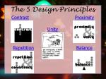 the 5 design principles