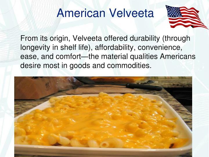 American Velveeta