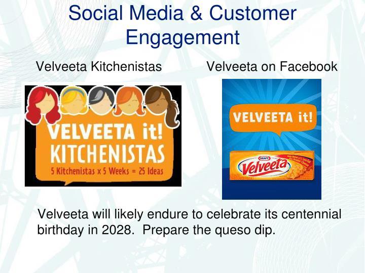 Social Media & Customer Engagement