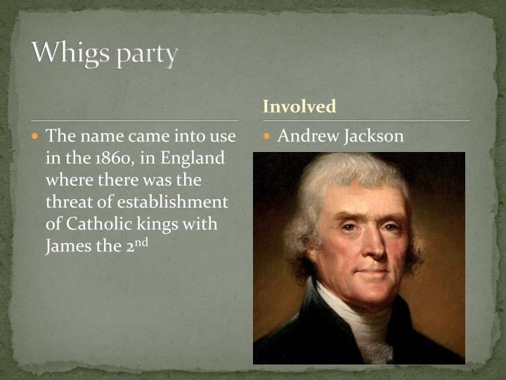 Whigs party
