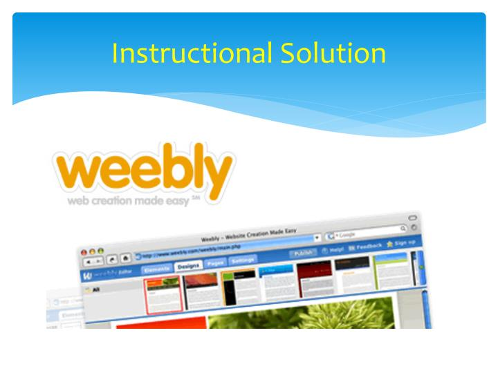 Instructional Solution