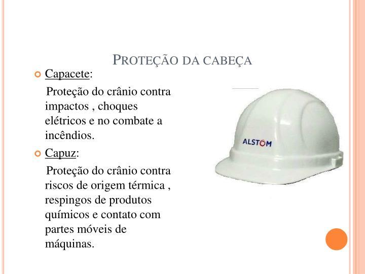 Proteção da cabeça