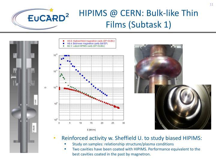 HIPIMS @ CERN: