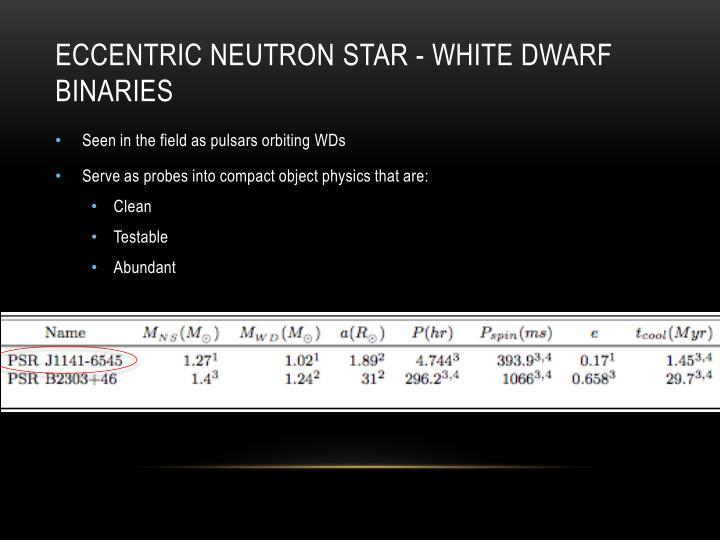 Eccentric Neutron