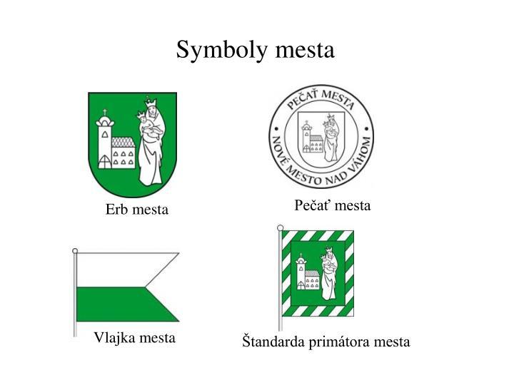 Symboly mesta