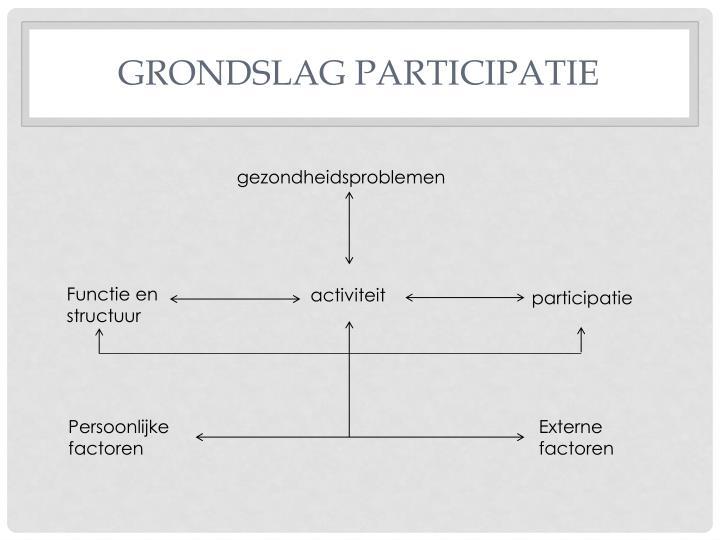 Grondslag participatie