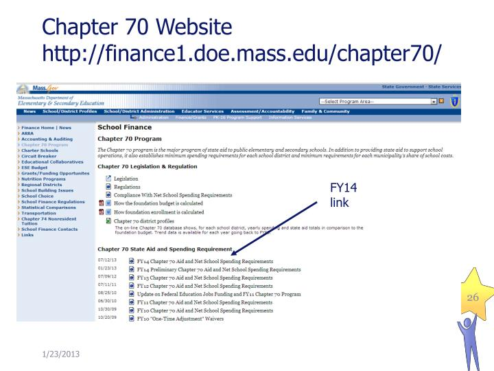 Chapter 70 Website