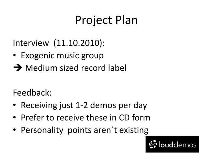 Project plan1