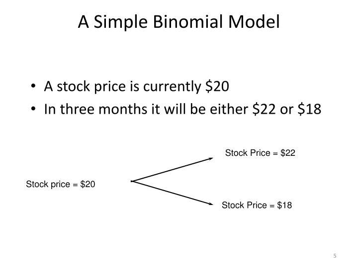 A Simple Binomial Model