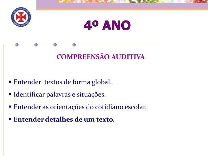 4º ANO