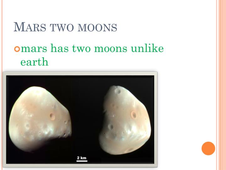 Mars two moons