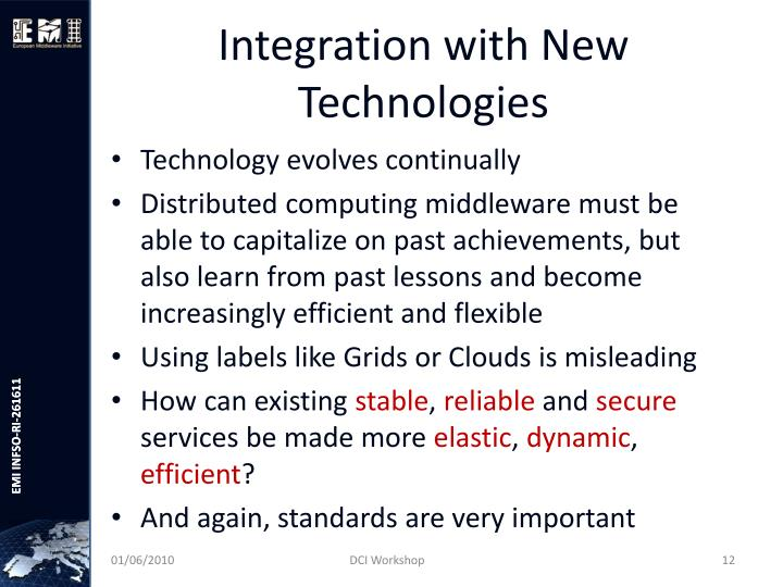 Integration with New Technologies