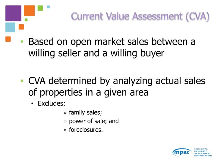 Current Value Assessment (CVA)