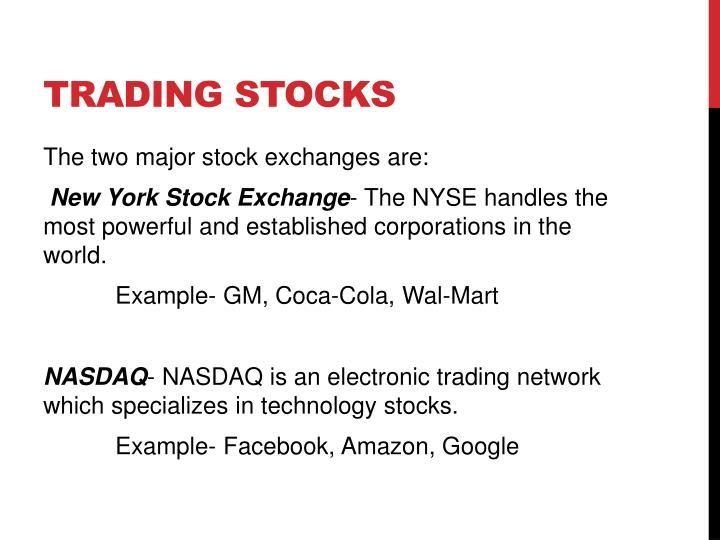 Trading Stocks