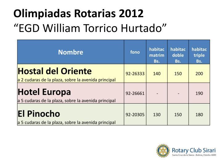 Olimpiadas Rotarias