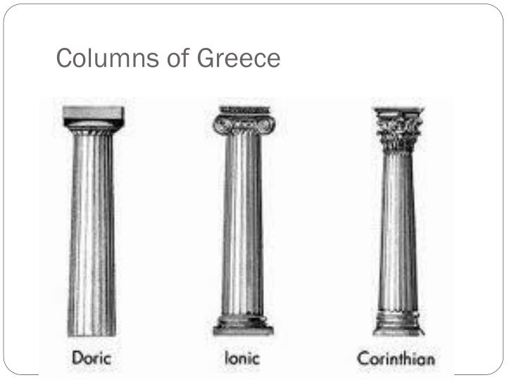 Columns of Greece