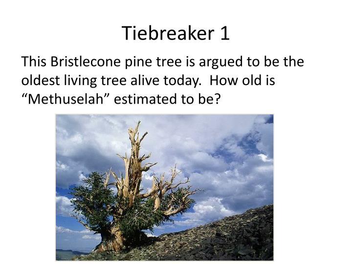 Tiebreaker 1