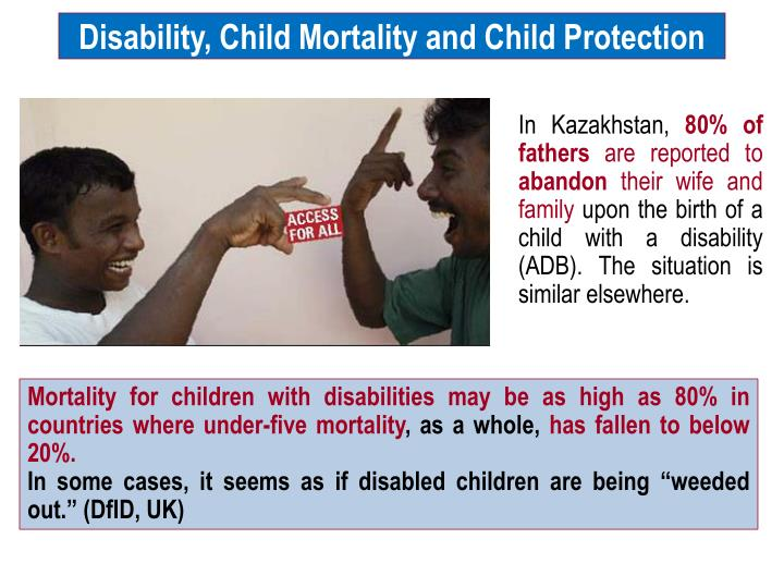 Disability, Child Mortality and Child Protection