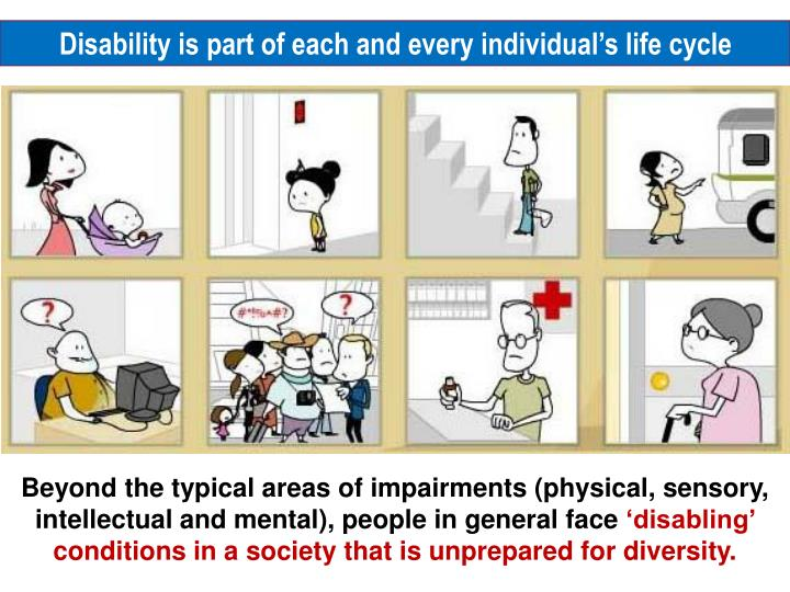 Disability is part of each and every individual's life cycle