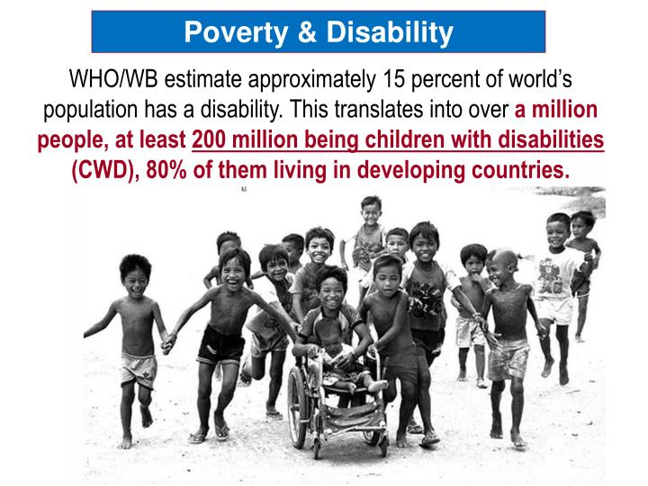 Poverty & Disability