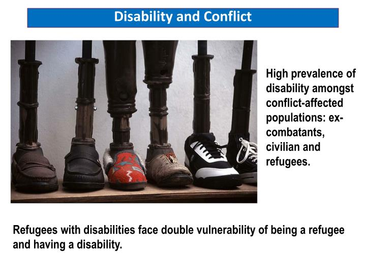 Disability and Conflict