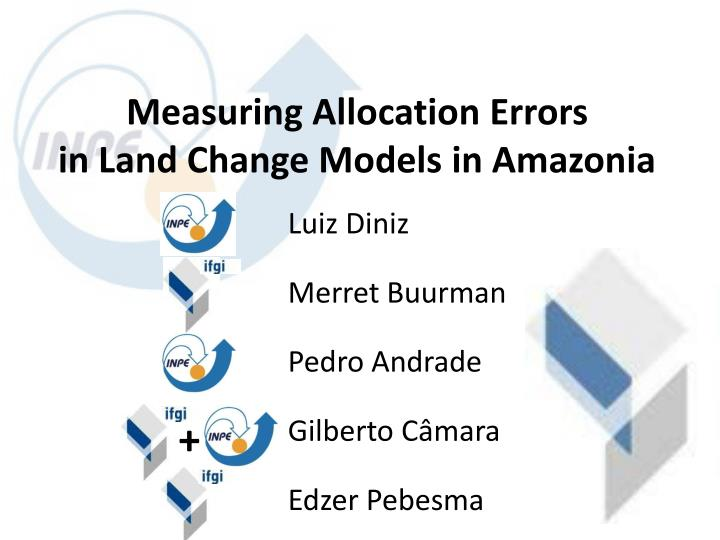 Measuring Allocation Errors