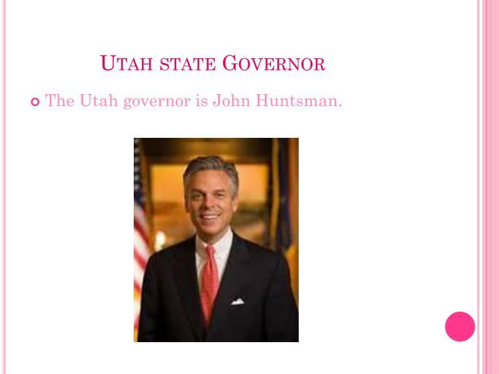 Utah state Governor