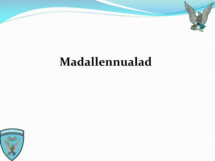 Madallennualad