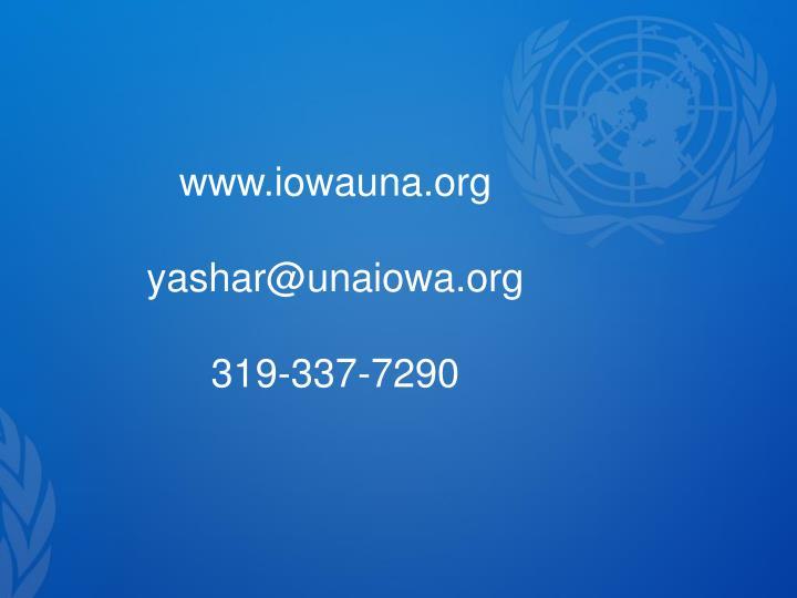 www.iowauna.org