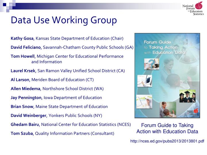 Data Use Working Group