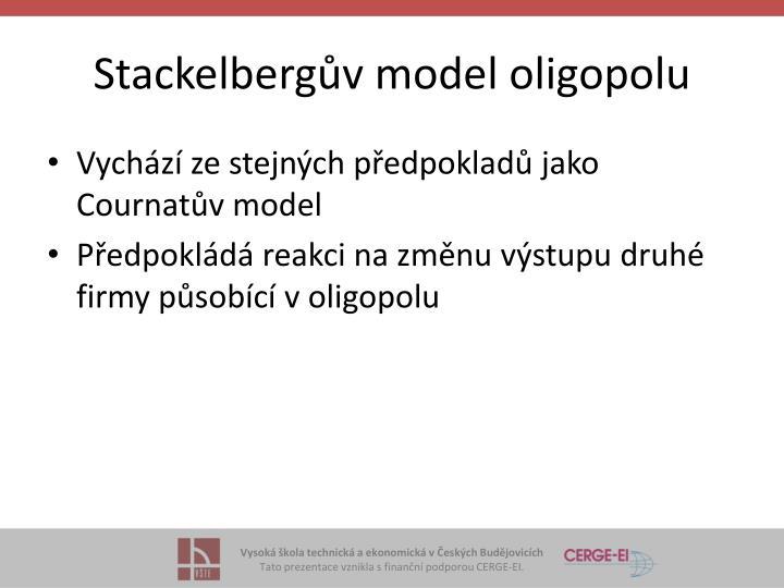 Stackelbergův