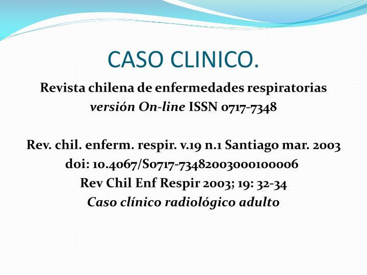 CASO CLINICO.