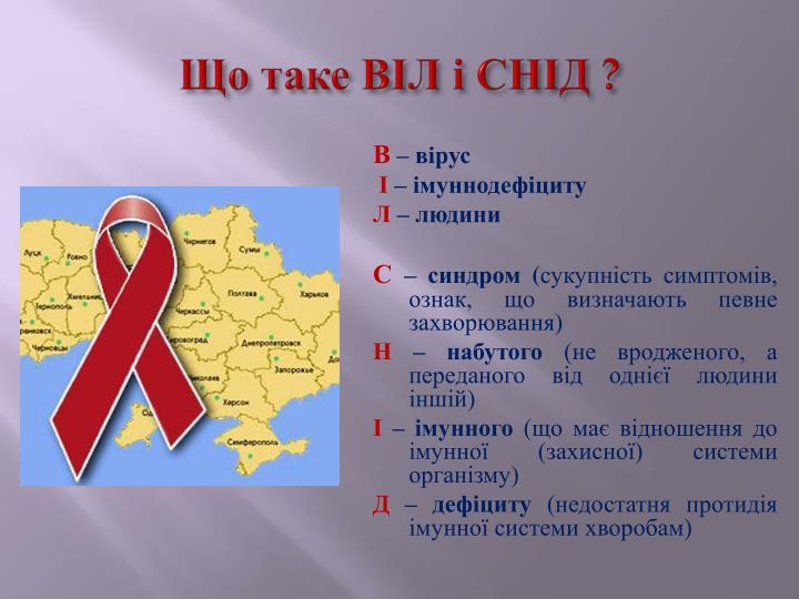 Що таке ВІЛ і СНІД