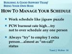 building a good support team being your own boss12