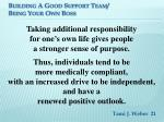 building a good support team being your own boss18