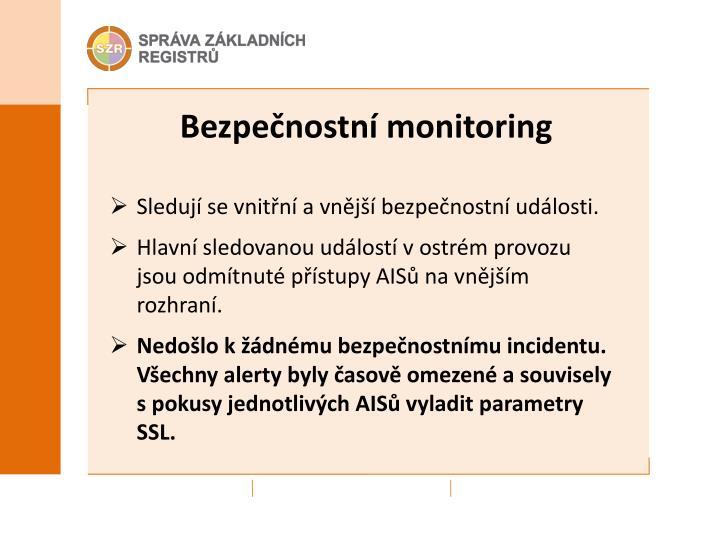 Bezpečnostní monitoring